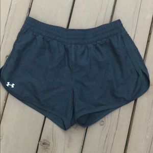 Under Armour Black Pattern Running Shorts